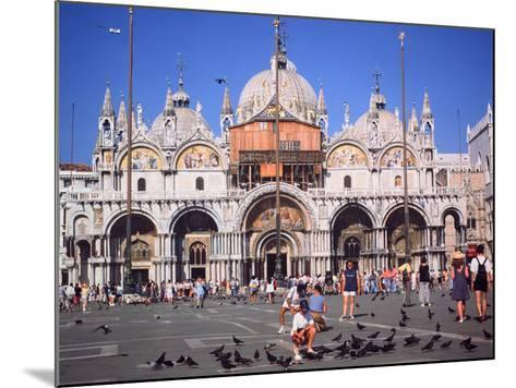 St Marks Square and Basilica, Venice, Italy-Peter Thompson-Mounted Photographic Print