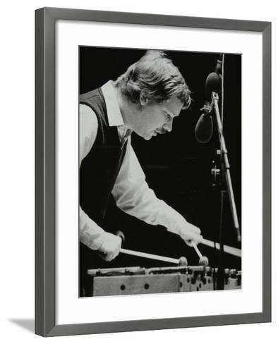 Gary Burton Playing the Vibraphone at the Forum Theatre, Hatfield, Hertfordshire, 25 November 1980-Denis Williams-Framed Art Print