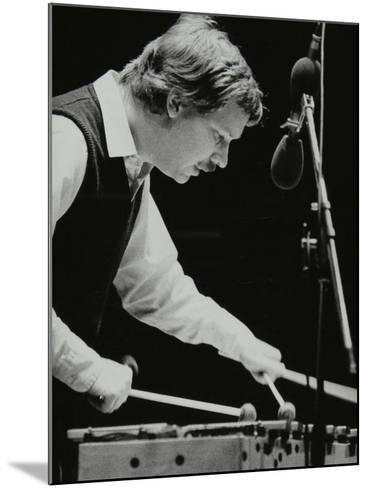 Gary Burton Playing the Vibraphone at the Forum Theatre, Hatfield, Hertfordshire, 25 November 1980-Denis Williams-Mounted Photographic Print