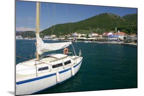 Yacht, Sami, Kefalonia, Greece-Peter Thompson-Mounted Photographic Print