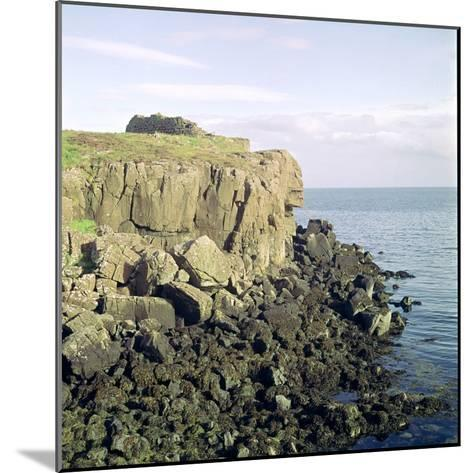 Ruadha a Dunain, a Promontory Fort on the Isle of Skye-CM Dixon-Mounted Photographic Print