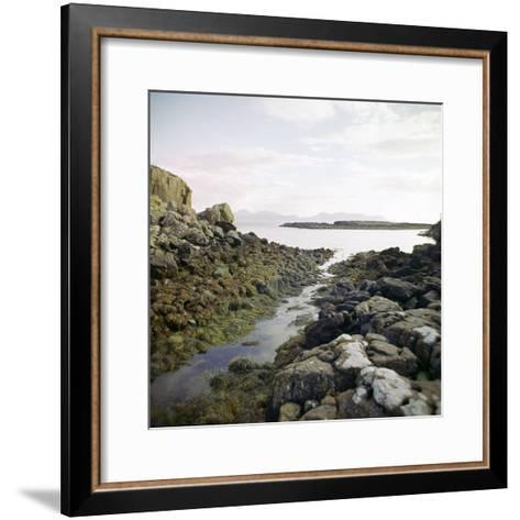 Canal Near the Promontory Fort at Ruadha a Dunain-CM Dixon-Framed Art Print