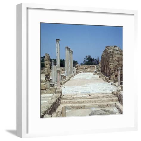The Greek Gymnasium in Salamis-CM Dixon-Framed Art Print