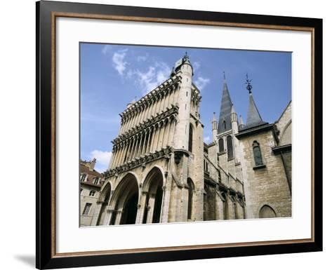 Church of Notre Dame, Dijon, Burgundy, France-Peter Thompson-Framed Art Print