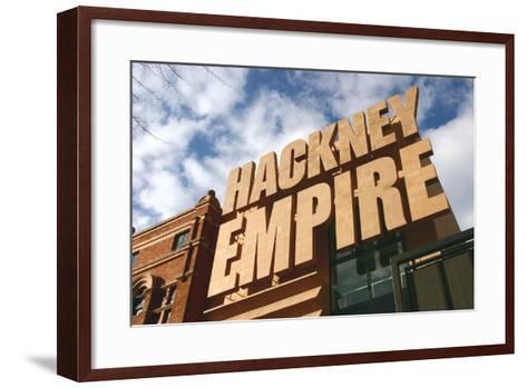 Hackney Empire, London-Peter Thompson-Framed Art Print
