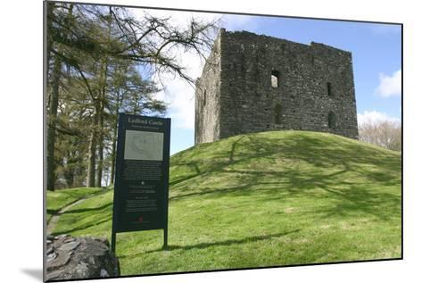 Lydford Castle, Devon-Peter Thompson-Mounted Photographic Print