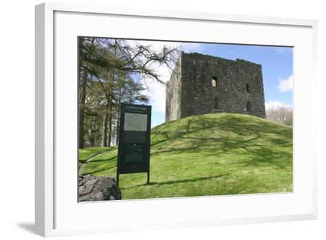 Lydford Castle, Devon-Peter Thompson-Framed Art Print