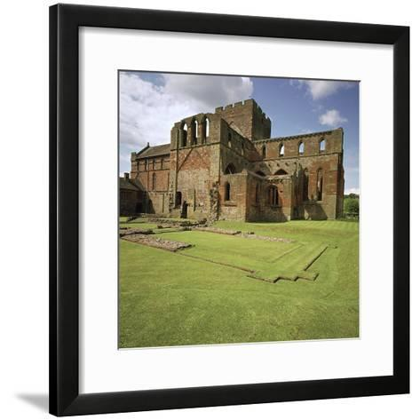 Lanercost Priory, 12th Century-CM Dixon-Framed Art Print