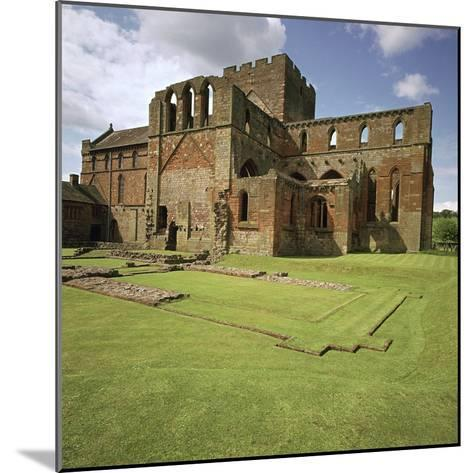 Lanercost Priory, 12th Century-CM Dixon-Mounted Photographic Print