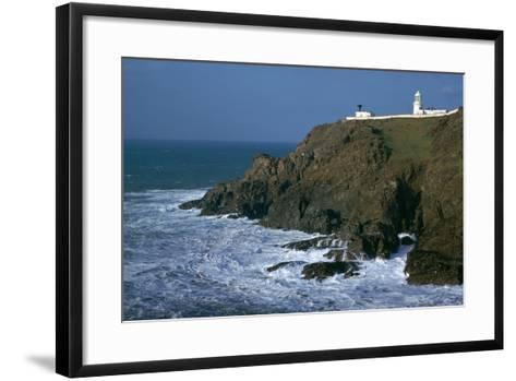 Pendeen Lighthouse-CM Dixon-Framed Art Print
