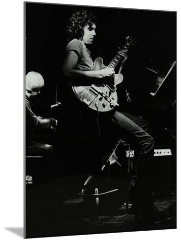 Michael Garrick and John Etheridge Playing at the Stables, Wavendon, Buckinghamshire-Denis Williams-Mounted Photographic Print
