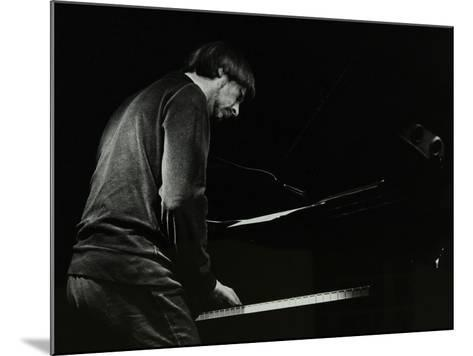 Michael Garrick on the Piano at the Stables, Wavendon, Buckinghamshire-Denis Williams-Mounted Photographic Print
