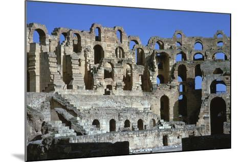 Interior of a Roman Colosseum, 3rd Century-CM Dixon-Mounted Photographic Print