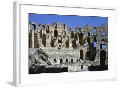 Interior of a Roman Colosseum, 3rd Century-CM Dixon-Framed Art Print