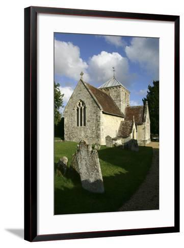 All Saints Church, Fonthill Bishop, Wiltshire, 2005-Peter Thompson-Framed Art Print