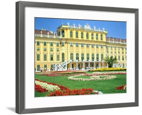 Schonbrunn Imperial Palace, Vienna, Austria-Peter Thompson-Framed Art Print