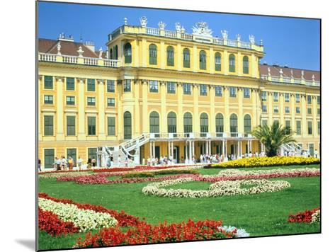 Schonbrunn Imperial Palace, Vienna, Austria-Peter Thompson-Mounted Photographic Print