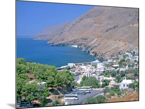 Hora Sfakion, Crete, Greece-Peter Thompson-Mounted Photographic Print