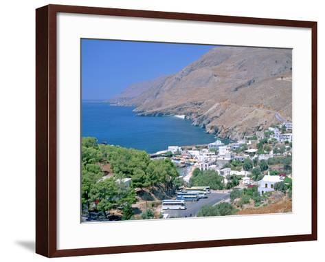 Hora Sfakion, Crete, Greece-Peter Thompson-Framed Art Print