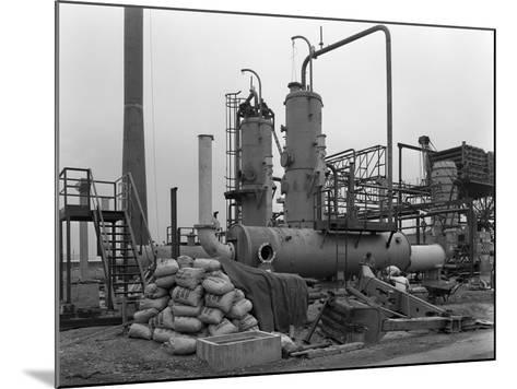 Sulphur Recovery Plant under Construction at the Coleshill Gas Works, Warwickshire, 1962-Michael Walters-Mounted Photographic Print
