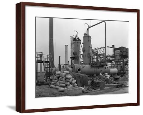 Sulphur Recovery Plant under Construction at the Coleshill Gas Works, Warwickshire, 1962-Michael Walters-Framed Art Print