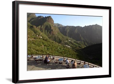 Miador De La Cruz De Hilda, Masca, Tenerife, Canary Islands, 2007-Peter Thompson-Framed Art Print