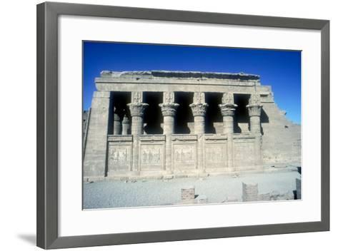 The Mammisi (Birth-House), Temple of Hathor, Dendera, Egypt, 125 BC - 60 Ad-CM Dixon-Framed Art Print