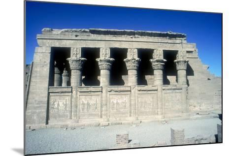 The Mammisi (Birth-House), Temple of Hathor, Dendera, Egypt, 125 BC - 60 Ad-CM Dixon-Mounted Photographic Print
