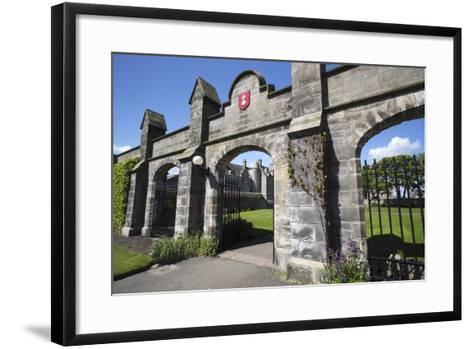 St Andrews University, Fife, Scotland, 2009-Peter Thompson-Framed Art Print