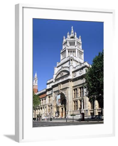 Victoria and Albert Museum, South Kensington, London-Peter Thompson-Framed Art Print