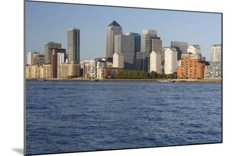 Canary Wharf, London, 2009-Peter Thompson-Mounted Photographic Print