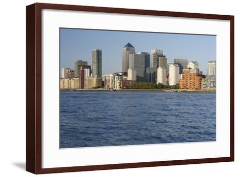 Canary Wharf, London, 2009-Peter Thompson-Framed Art Print