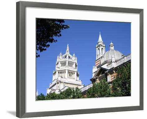 Victoria and Albert Museum, South Kensington, London-Peter Thompson-Framed Art Print