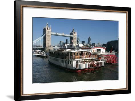 Tower Bridge, London-Peter Thompson-Framed Art Print