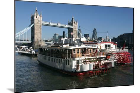Tower Bridge, London-Peter Thompson-Mounted Photographic Print