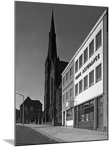 The Royal Insurance Building in Moorgate, Rotherham, South Yorkshire, 20 July 1962-Michael Walters-Mounted Photographic Print