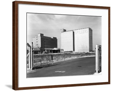 Main Mill Buildings at Spillers Animal Foods, Gainsborough, Lincolnshire, 1965-Michael Walters-Framed Art Print