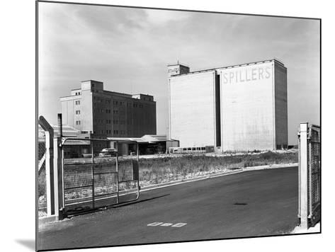Main Mill Buildings at Spillers Animal Foods, Gainsborough, Lincolnshire, 1965-Michael Walters-Mounted Photographic Print