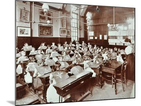 Class 5, Goodrich Road School, Camberwell, London, 1907--Mounted Photographic Print