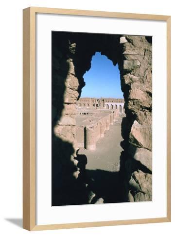 Fortress of Al Ukhaidir, Iraq, 1977-Vivienne Sharp-Framed Art Print