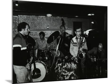 Jazz at the Bell, Codicote, Hertfordshire, January 1984-Denis Williams-Mounted Photographic Print