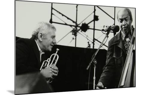 Ruby Braff and Slam Stewart at the Capital Jazz Festival, Alexandra Palace, London, July 1979-Denis Williams-Mounted Photographic Print