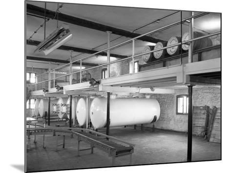 Whisky Blending at Wiley and Co, Sheffield, South Yorkshire, 1960-Michael Walters-Mounted Photographic Print