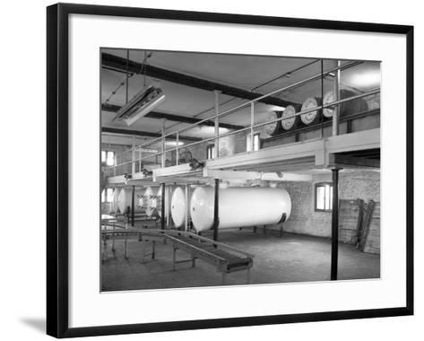 Whisky Blending at Wiley and Co, Sheffield, South Yorkshire, 1960-Michael Walters-Framed Art Print