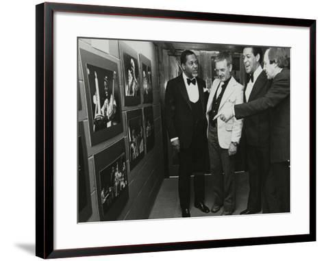 Opening of an Exhibition of Photographs by Denis Williams, Forum Theatre, Hatfield, Herts, 1978--Framed Art Print