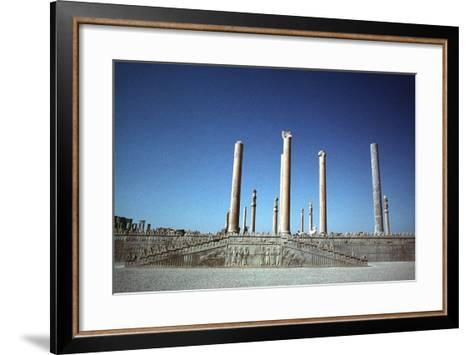 Ruins of the Apadana, Persepolis, Iran-Vivienne Sharp-Framed Art Print