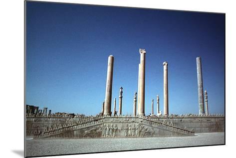 Ruins of the Apadana, Persepolis, Iran-Vivienne Sharp-Mounted Photographic Print
