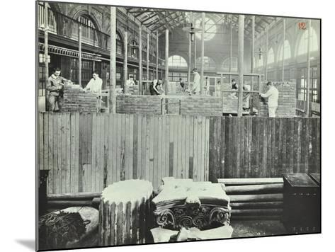 Building Class, School of Building, Brixton, London, 1911--Mounted Photographic Print