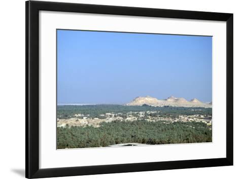 Jebel at Takrur from Siwa, Egypt-Vivienne Sharp-Framed Art Print