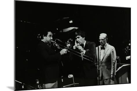 The Herb Miller Orchestra in Concert at the Forum Theatre, Hatfield, Hertfordshire, 1985-Denis Williams-Mounted Photographic Print